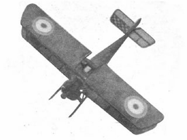 Sopwith Camel (oz3729) by Joseph Wherry from Model Airplane News 1946