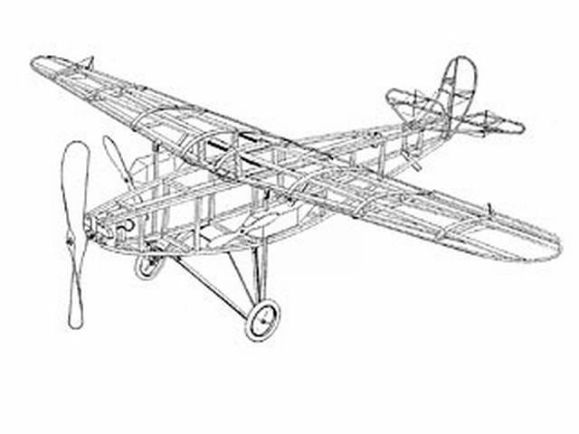 Fokker North Pole Monoplane (oz3735) from Ideal 1926