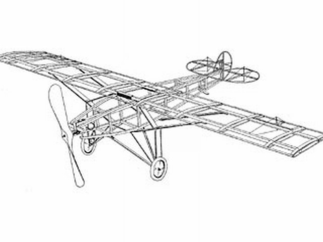 New York Paris Monoplane (oz3736) from Ideal 1927