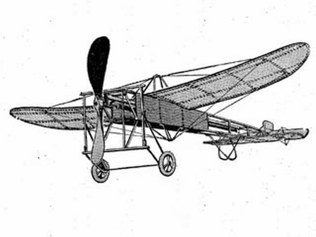 Bleriot XI (oz3737) from Ideal 1917