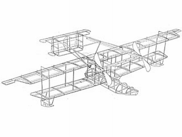 Curtiss NC-4 Seaplane (oz3738) from Ideal 1919
