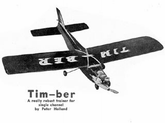 Timber - completed model photo