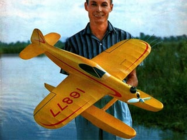 Sure Fun (oz3751) by Vern Clements from Model Airplane News 1957