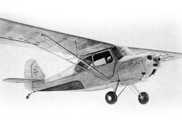 Aeronca Champion (oz3770) by S Cal Smith from Model Builder 1984