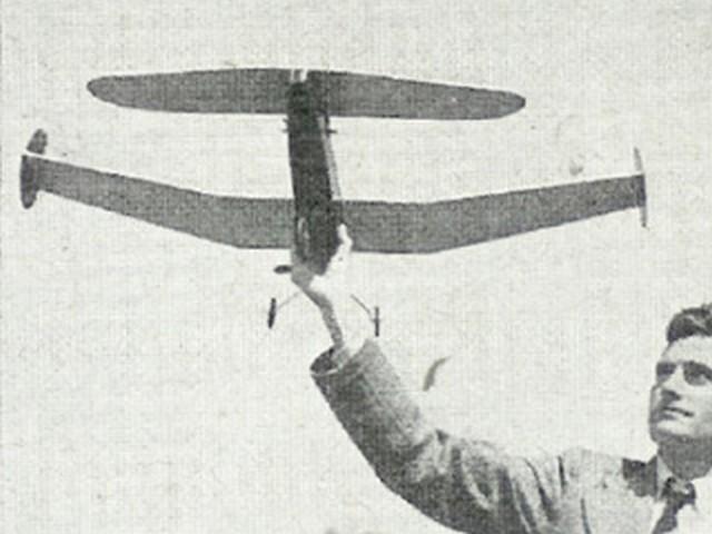 Ascender (oz3771) by Jim Fullarton from Aeromodeller 1951