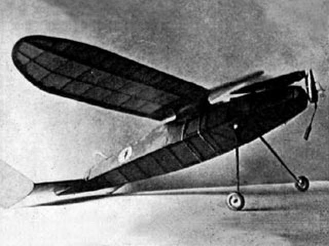 Pete (oz3777) by Robert Burns from Aeromodeller 1942