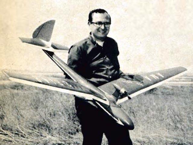 Sea Gull Soarer (oz3782) by Bill Siegel from Flying Models 1962