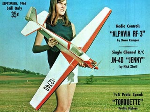 Alpavia RF-3  (oz3806) by Owen Kampen from Flying Models 1966