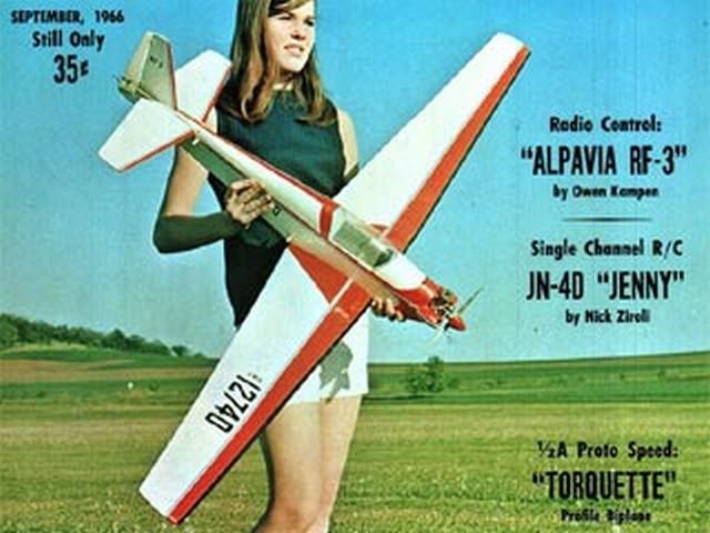 Alpavia RF-3  - completed model photo