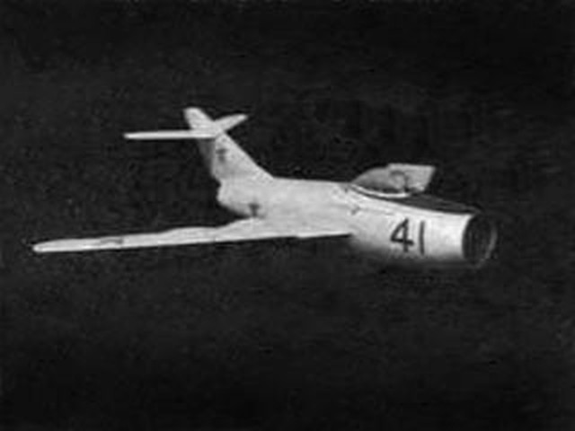 MiG-15 (oz3808) by PE Norman from Aeromodeller 1955