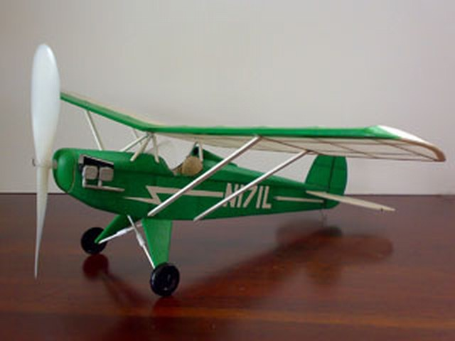 Baby Ace (oz3823) from Janick Model Engineering 1973