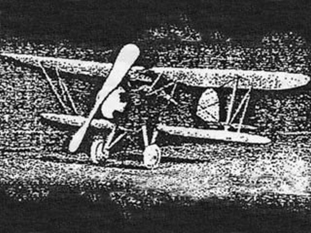 Bird Biplane (oz3829) from Tomasco 1934
