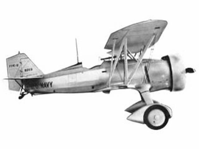 Curtiss F11-C2 Goshawk (oz383) by Don McGovern from Berkeley 1956