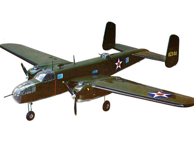 B-25 Mitchell (oz3835) from Royal Marutaka 1976