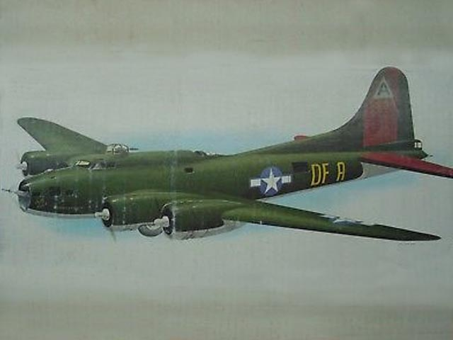B-17F Flying Fortress (oz3844) from Royal Marutaka 1976