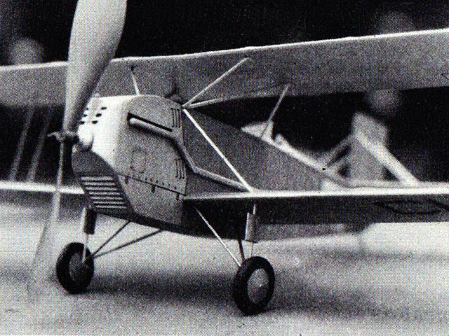 Curtiss Airmail Biplane (oz3864) from Comet