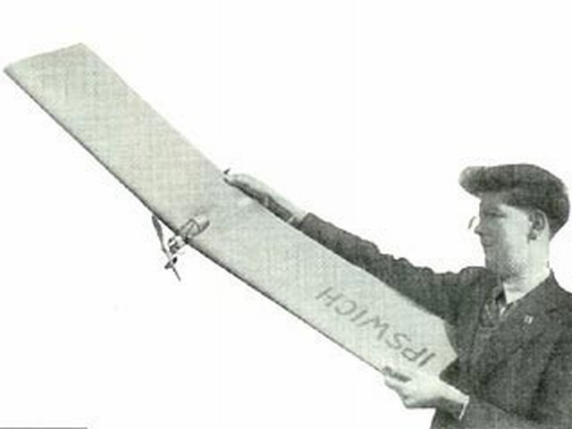 Pete's Plank (oz3868) by Peter Wyatt from Aeromodeller 1951