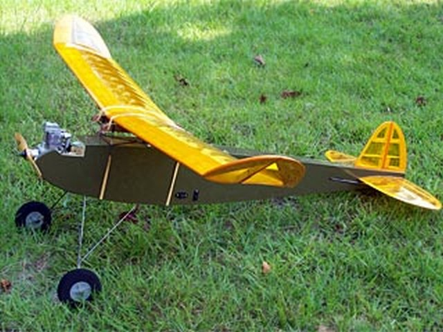 Flying Midget (oz3896) by Thracy Petrides from Model Builder 1983