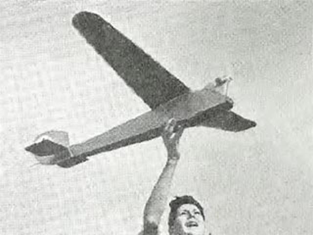 English Electric Wren (oz3902) by Peter Wyatt from Aeromodeller 1952