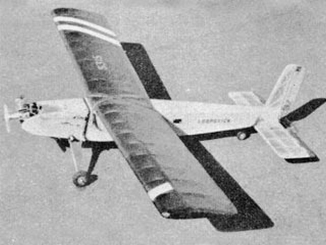 Loopstick (oz3912) by P Lovegrove from Model Aircraft 1960