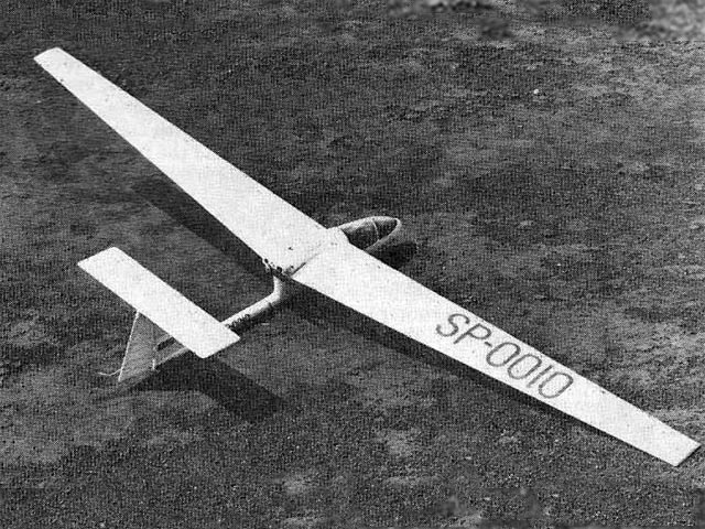SZD Ogar (oz3915) by Howie Applegate from Flying Models 1977