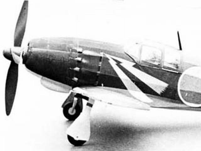 Mitsubishi J2M3 Raiden (oz3918) by Pres Bruning 1972