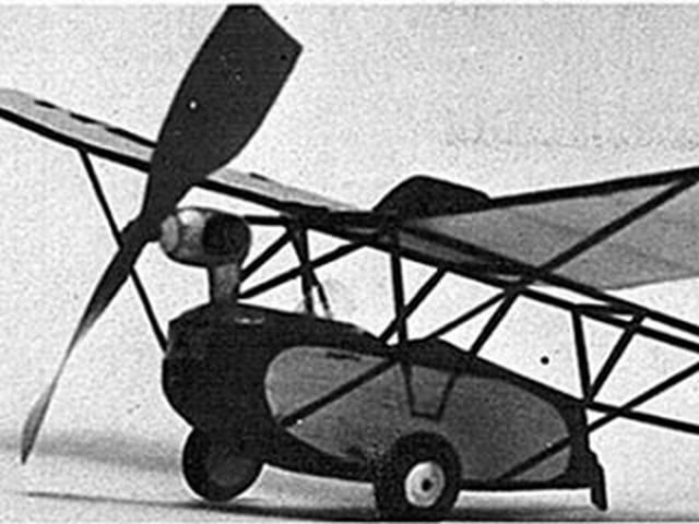 Ramsey Flying Bathtub (oz3919) by Don Drury from Model Builder 1974