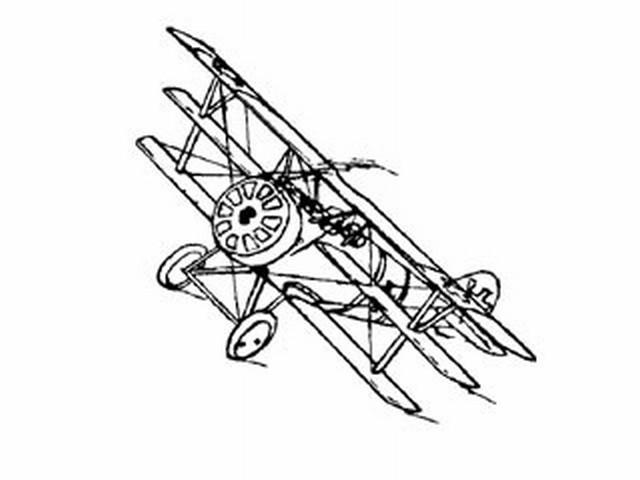 Pfalz Triplane (oz392) by Gordon Plaxton from Great Lakes Model Engineers 1935