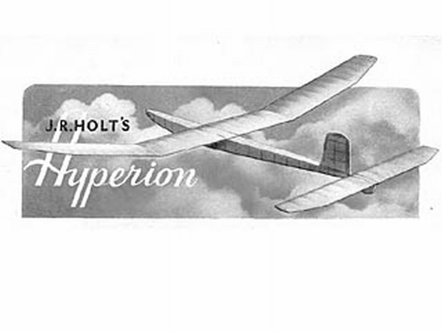 Hyperion (oz3923) by JR Holt from Model Aircraft 1950