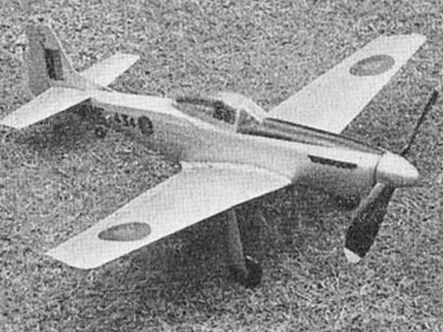 Mustang IV (oz3926) by N Gregory from Model Aircraft 1950