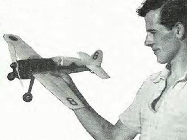 Black Chiffon (oz3927) by C Milford from Aeromodeller 1952
