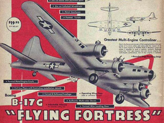 Boeing B-17G Flying Fortress (oz3941) by Don McGovern from Berkeley 1959