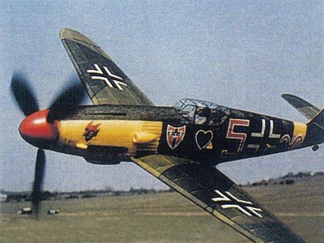 Bf-109F (oz3944) by L Koutny from Aeromodeller 1998