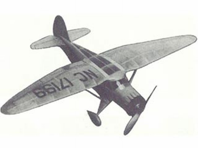 Stinson Reliant (oz3948) from Megow Models