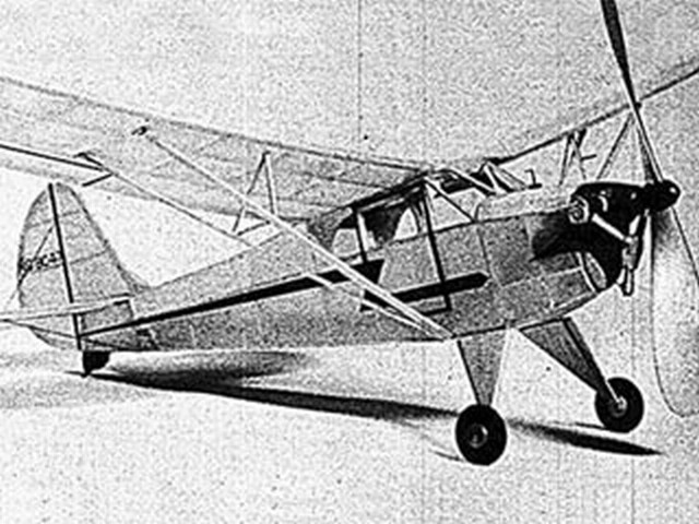 Aeronca K - completed model photo