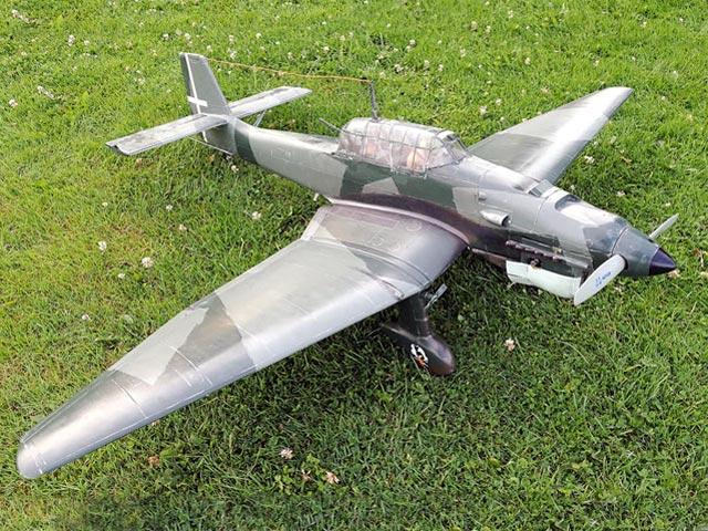 Junkers Ju 87B Stuka (oz3975) from Royal Marutaka