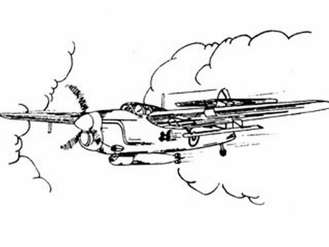 Fairey Barracuda (oz4001) from Ace Whitman 1946