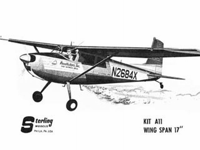 Cessna 180 (oz4028) from Sterling