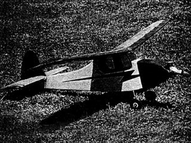 Cricket (oz4067) by Noel Shennan from Model Aircraft 1964