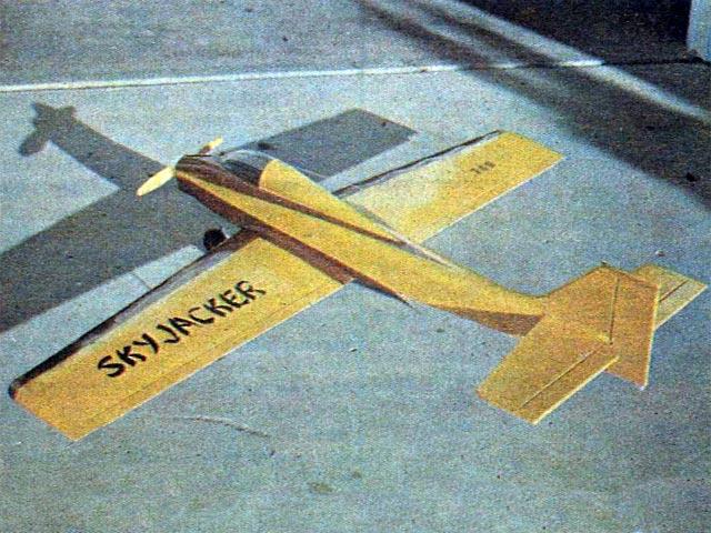 Skyjacker  (oz4080) by WE Taylor from RC Sportsman 1977