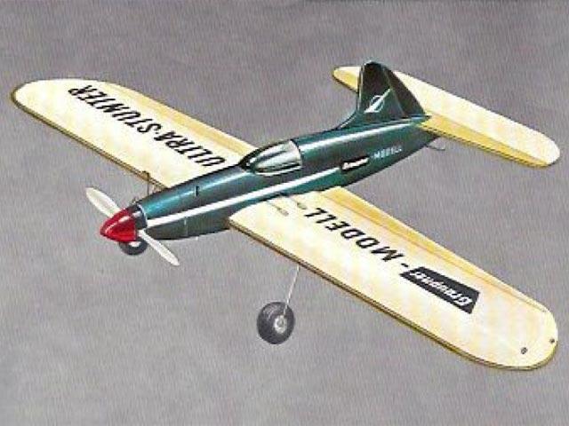Ultra Stunter (oz4094) by FW Biesterfeld from Graupner 1958