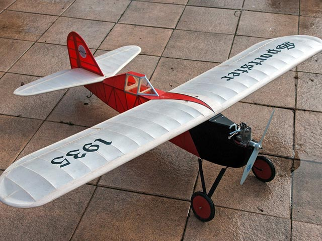 Sportster (oz412) by Julius Unrath from Model Airplane News 1936