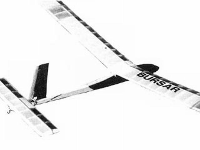 Bursar (oz4130) by Ian Barrett from Aeromodeller 1981