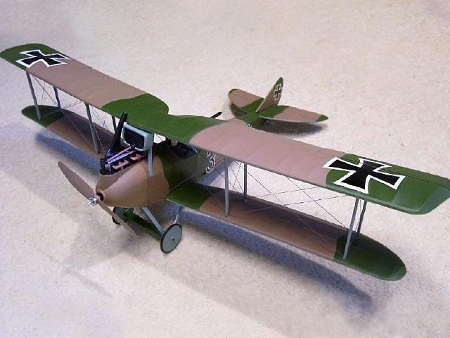 Rumpler C-5 (oz4133) from Guillows 1964