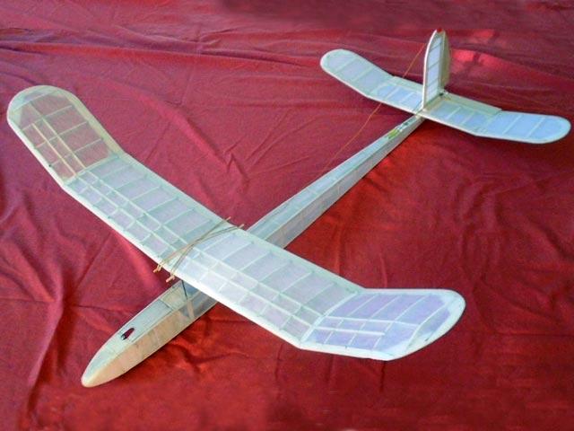 1947 Lightweight Glider (oz4141) by Mick Farthing from Aeromodeller 1948