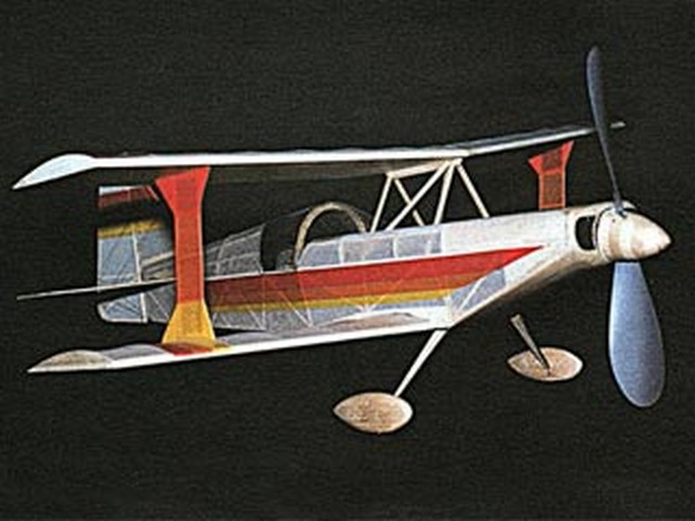 Ultimate Biplane (oz4162) by Pat Tritle from Model Builder 1994