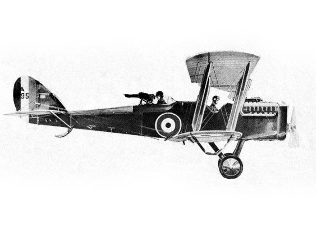 De Havilland DH-4 (oz4174) from Guillows 1964
