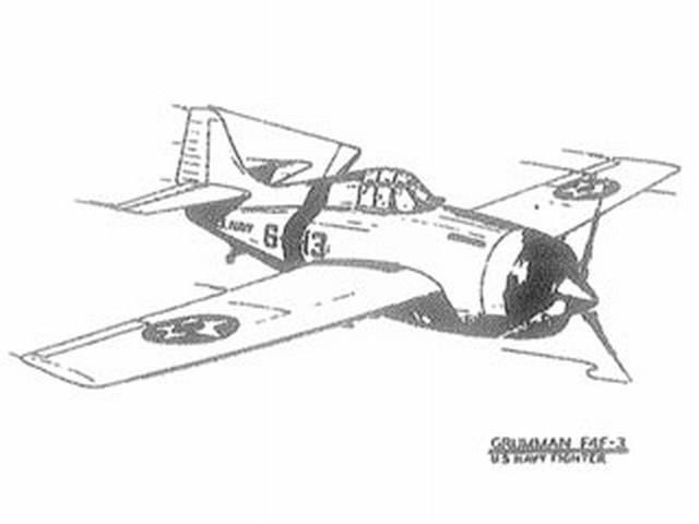 Grumman F4F-3 (oz4188) from Ace Whitman 1942