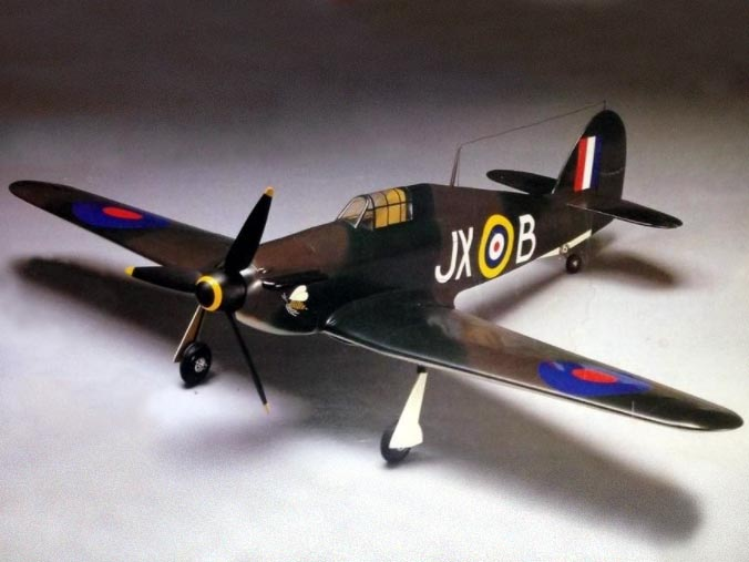 Hawker Hurricane Mk1 - completed model photo