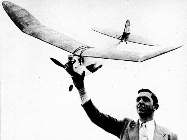 Gismoe (oz42) by Jerry Brofman from Model Airplane News 1948